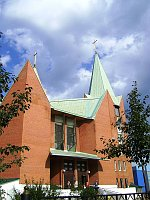 Храм Непорочного Зачатия Пресвятой Девы Марии в Челябинске (Фото: Кирилл Палеолог, Wikimedia Commons, Free Domain)