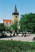 Новоместская ратушa на Карловой площади (Фото: CzechTourism)