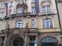 Здание Министерства регионального развития на Староместской площади (Фото: Антон Каймаков, Чешское радио - Радио Прага)
