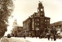 Главный вокзал в 19-ом веке