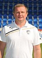 Тренер Павел Врба (Фото: Архив «Виктории» Плзень)
