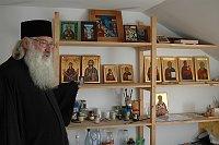 Иконографическая мастерская в монастыре Козия (Фото: Яна Шустова)