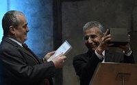 Карел Шварценберг и Интигам Алиев (Фото: ЧТК)