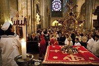 Navalis, 2010 г., богослужение в кафедральном соборе Св. Вита