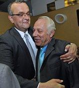 Мирослав Калоусек и Богумир Дуфек (Фото: ЧТК)