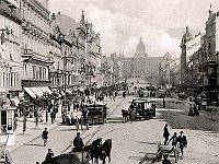 Вацлавская площадь в 19 веке