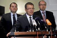 Ян Флориян, Петр Тлухорж и Иван Фукса (Фото: ЧТК)