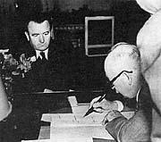 Клемент Готтвальд и Эдвард Бенеш в феврале 1948 г.
