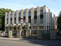 Здание Российского центра науки и культуры при Посольстве Российской Федерации в Чехии