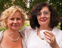 Наталья Барановская (справа) с подругой (Фото: Алексей Пономарев)
