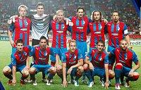Футболисты пльзеньской «Виктории»