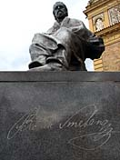 Памятник Б.Сметане в Праге (Фото: Кристина Макова, Чешское радио - Радио Прага)
