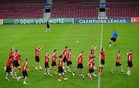 Пьзеньские футболисты (Фото: ЧТК)