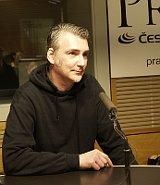 Куратор выставки Отто Урбан (Фото: Ян Профоус, Чешское радио)