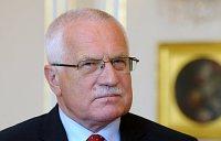 Чешский президент Вацлав Клаус (Фото: Архив Правительства ЧР)