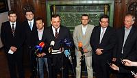 Пресс-конференция Гражданской демократической партии (Фото: ЧТК)