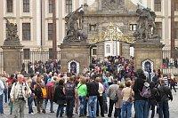 Туристы в Праге (Иллюстративное фото: Кристина Макова, Чешское радио - Радио Прага)