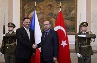 Петр Нечас с турецким премьером Реджепом Тайипом Эрдоганом (Фото: ЧТК)