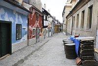 Ремонт Золотой улочки (Фото: Филип Яндоурек, Чешское радио)