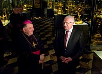 Доминик Дука с Вацлавом Клаусом (Фото: Филип Яндоурек, Чешское радио)