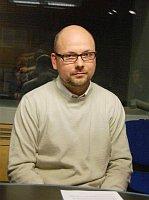 Пресс-секретарь Пражского архиепископства Алеш Пиштора (Фото: Томаш Водньянски, Чешское радио)