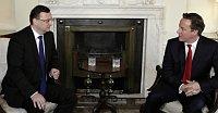 Премьер-министр Чехии Петр Нечас и премьер-министр Великобритании Дэвид Кэмерон (Фото: ЧТК)