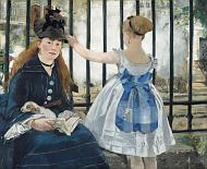 Эдуард Мане - 'Железная дорога' (Фото: National Gallery of Art, Washington)