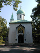 Храм Успения Божьей Матери на Ольшанском кладбище