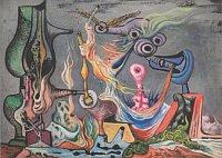 Франтишек Яноушек «Военный пейзаж», 1939 - 1942