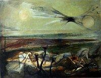 Богдан Лацина «Пограничный пейзаж», 1945 г.