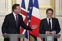 Премьер-министр Великобритании Дэвид Кемерон и президент Франции Николя Саркози (Фото: ЧТК)