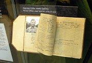 Военные документы Йозефа Габчика (Фото: Барбора Кментова, Чешское радио - Радио Прага)