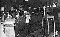 Милада Горакова во время процесса