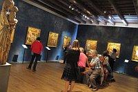 Цикл икон Мастера Вышебродского алтаря в Национальной галереи (Фото: Кристина Макова, Чешское радио - Радио Прага)
