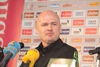 Тренер чешской команды Михал Билек