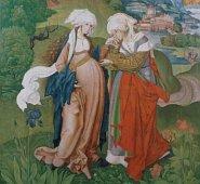 «Посещение Девы Марии», около 1506 г., Budapest, Magyar Nemezeti Galeria
