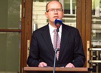 Преньер-министр Богуслав Соботка (Фото: Кристина Макова, Чешское радио - Прага Радио)