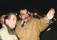 Вацлав Гавел с Карелом Шварценбергом (Фото: Архив сайта Карела Шварценберга)