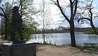 Тржебоньский пруд «Свет» (Фото: Rudolf Kukačka, Wikimedia Commons, Public Domain)