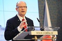 Премьер-министр ЧР Богуслав Соботка (Фото: Филип Яндоурек, Чешское радио)