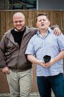 Фоторепортер Михал Новотны, слева (Фото: Facebook организации «Форум мигрантов»)