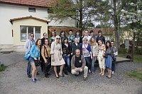 Люди, заинтересованные в проекте, и фоторепортер Михал Новотны (Фото: Facebook организации «Форум мигрантов»)