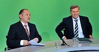 Гетман Михал Гашек и министр Петр Бендл (Фото: ЧТК)