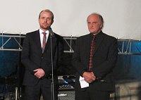 Чеслав Валек и Михаэл Коцаб (Фото: Кристина Макова, Чешское радио - Радио Прага)