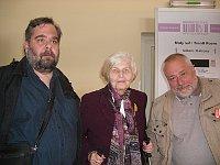 Михал Рыбка, Алена Моравкова и Владимир Кантор (Фото: Лорета Вашкова, Чешское радио)