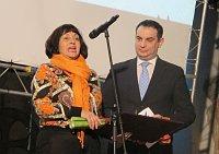 Мария Гайлова и Петер Поллак (Фото: Кристина Макова, Чешское радио - Радио Прага)