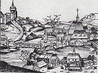 Изображение монастыря 1492 года