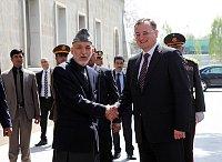 Хамид Карзай и Петр Нечас (Фото: ЧТК)