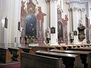 Интерьер костела Святой Маркеты (Фото: Архив Чешского радио - Радио Прага)