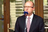 Премиьер-министр Богуслав Соботка (Фото: Кристина Макова, Чешское радио - Радио Прага)
